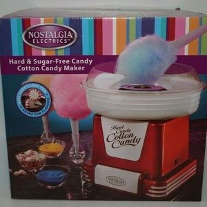 Nostalgia Electrics Hard Candy Cotton Candy Maker